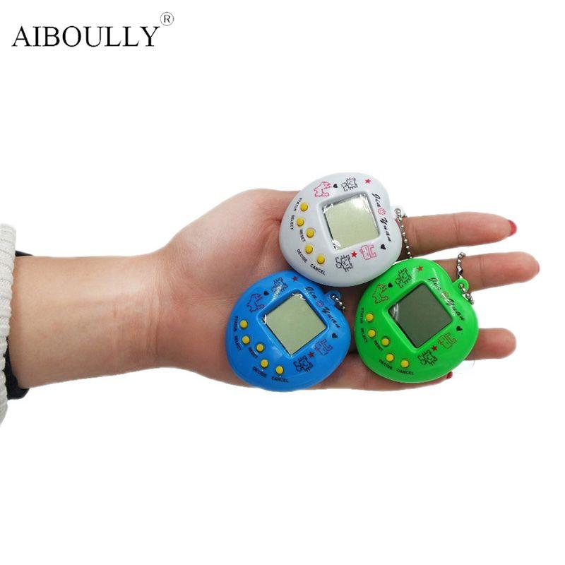 Lustige Tamagochi Pet Virtuelle Digital Spiel Maschine Nostalgischen 168 pet in 1 Virtuelle Cyber Elektronische Pet Brinquedos Für Geschenke