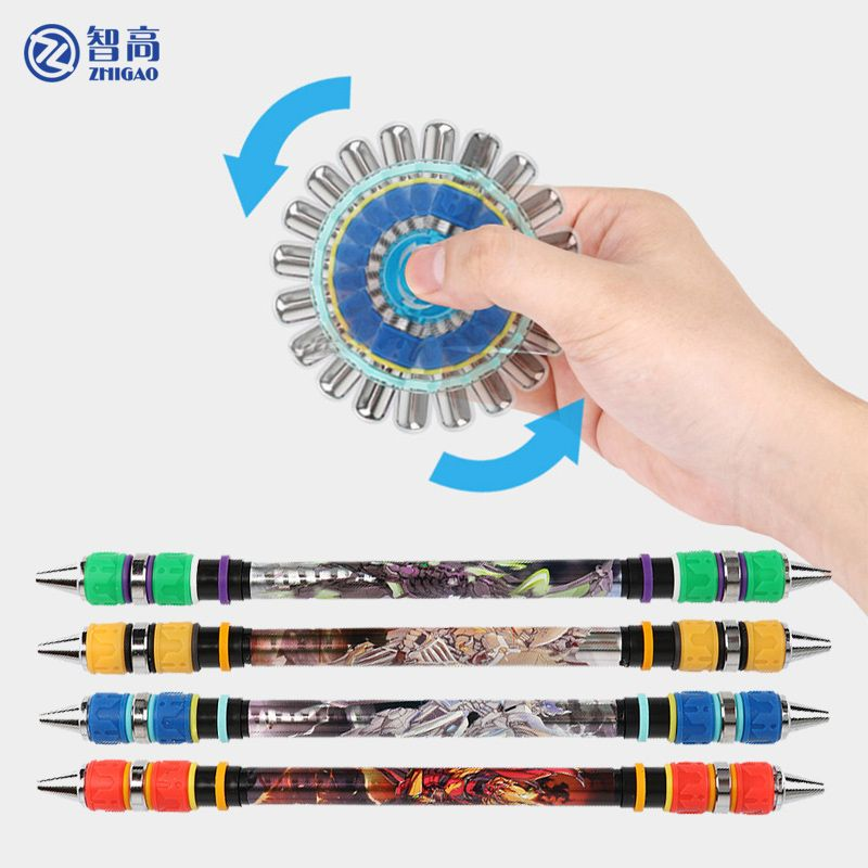 Zhigao spinning pen v21 Anti-fall pen cap multi function pen for school stationary store creative pens for writing Twirling