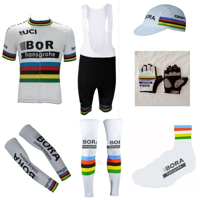 Mehr arten! 2017 UCI Pro team 7 STÜCKE vollen satz radfahren jersey kurzarm bike bekleidung MTB Ropa Ciclismo Fahrrad maillot GEL