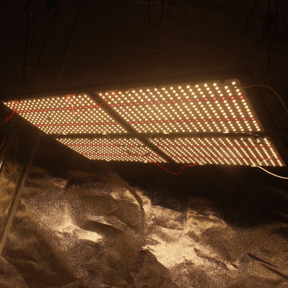 Figolite wachsen HLG 500 w dimmbare voll spektrum lm301b mix red 660nm led wachsen licht quantum bord