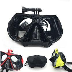2018 neue Unterwasser Scuba Anti Nebel Maske Schnorcheln Set Atemwege masken Sicher und wasserdicht Für Gopro Zubehör