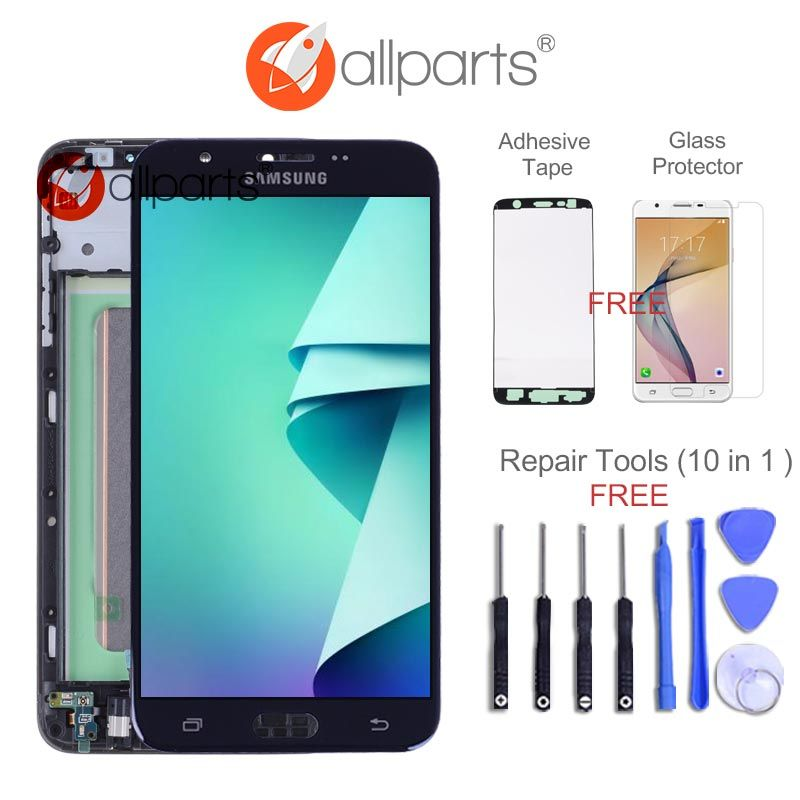 2016 Version 5.5 inch Display for SAMSUNG Galaxy J7 Prime LCD G610 G610F G610M Touch Screen Digitizer For SAMSUNG J7 Prime LCD