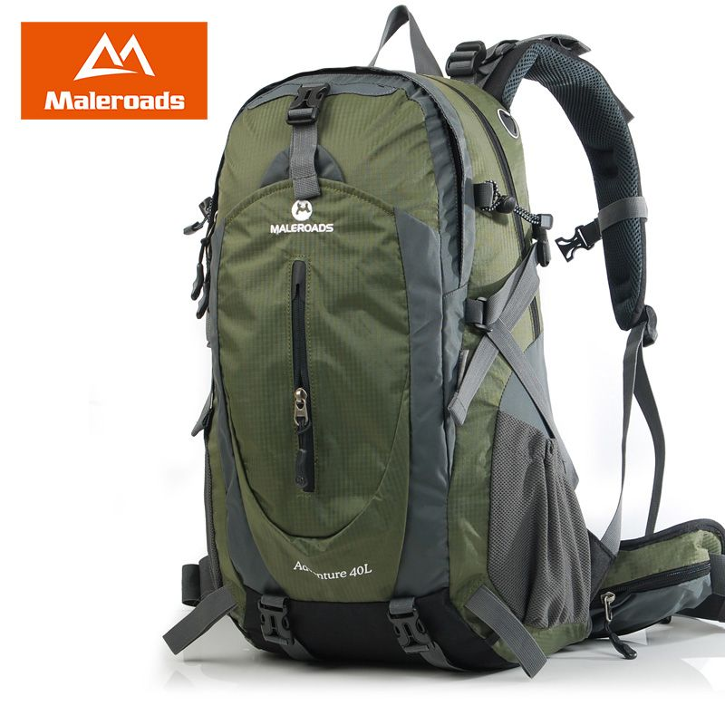 Amazing Maleroads 40L 50L Travel Backpack Men Women Trekking Backpack Waterproof Climb Mountaineering Camp <font><b>Equip</b></font> Hiking backpack