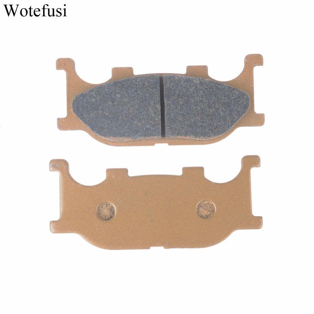 Wotefusi Front Brake Pads For Yamaha TDR125 XV125 Virago XVS 125 Dragstar SR125 CP250 [PA228]
