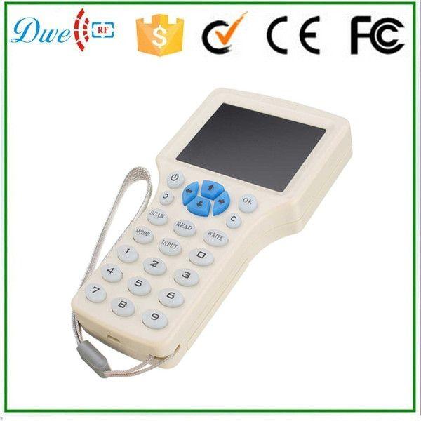 DWE CC RF DWE CC RF 9 Frequency Copy Encrypted NFC Smart Card RFID Copier ID IC Reader Writer english version