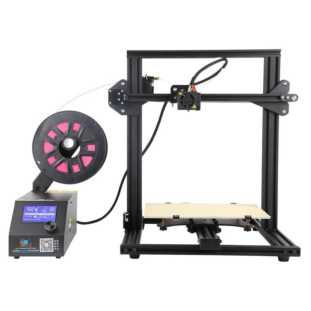 Creality CR-10mini Hohe Genauigkeit 3D Drucker Super Druck Größe 300*220*300mm Unterstützung PLA Weiche Materialien Holz EU Stecker 3D Drucker
