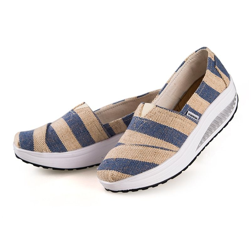 Summer Women Walking Shoes Platform Loss Weight Women's Shoes Swing Female Platform Shoes zapatillas deportivas mujer