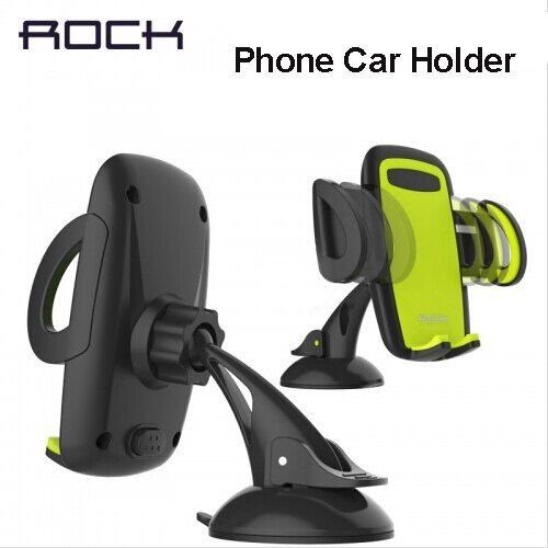 Rock Mobile Car Phone Holder Stand Adjustable Support 6.0 inch 360 Rotate For Iphone 6 Plus/5s <font><b>Samsung</b></font> galaxy note 7 S6 s7 edge