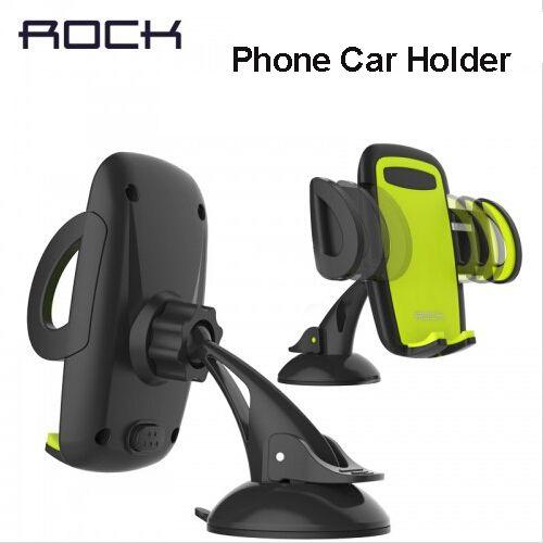 Rock Mobile Téléphone De Voiture Titulaire Stand Support Réglable 6.0 pouce 360 tourner Pour Iphone 6 Plus/5S Samsung galaxy note 7 S6 s7 bord