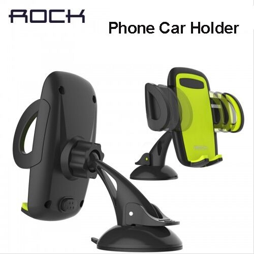 Rock <font><b>Mobile</b></font> Car Phone Holder Stand Adjustable Support 6.0 inch 360 Rotate For Iphone 6 Plus/5s Samsung galaxy note 7 S6 s7 edge