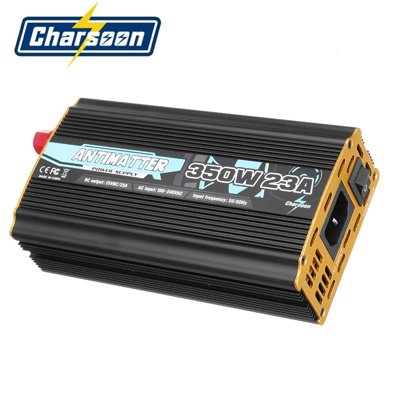Original Charsoon Antimatter 350W 23A Lipo Charger Power Supply Adapter For ISDT D2 Q6 Balance Charging Parts For RC Models Accs