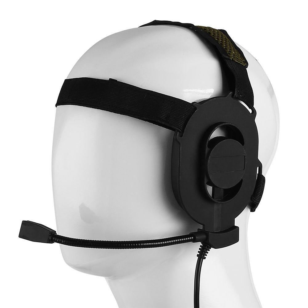 Z Tactical Bowman Elite II Headset for Kenwood 2 Pin 2 Way Radio Walkie Talkie