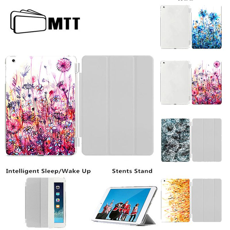 Case For ipad Air 2/New iPad 9.7 2017 2018 PU Leather Smart Tablet Cover Model A1474/ A1475/A1476/A1566/A1567/A1822/A1823/A1893