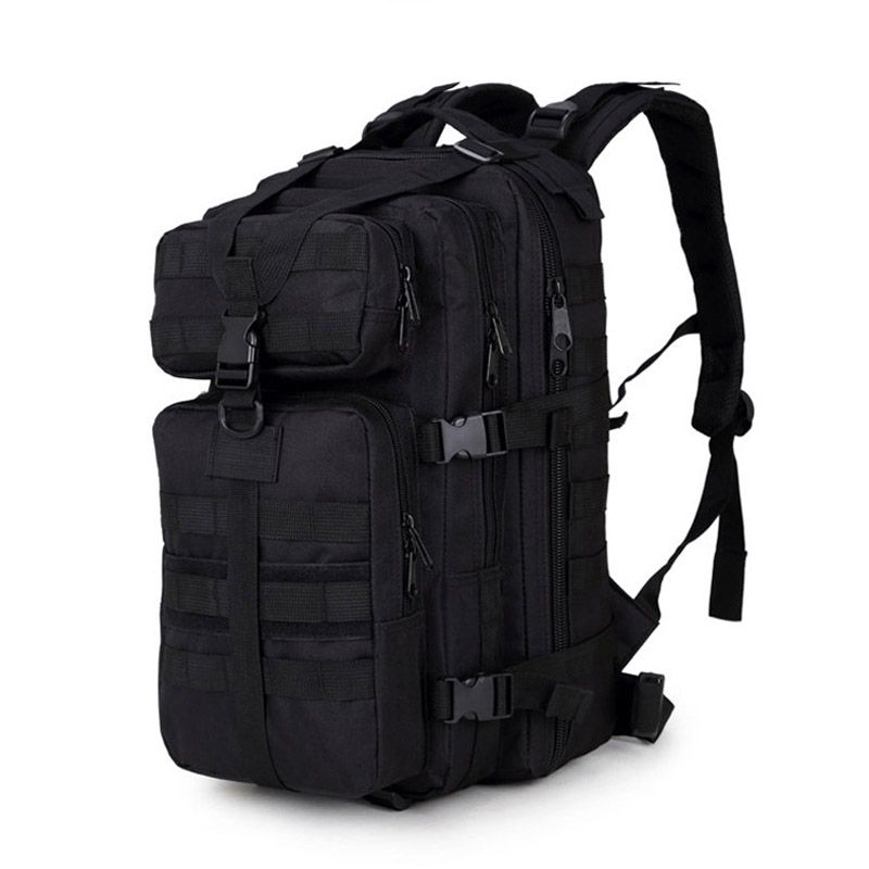Outdoor Hiking Camping Hunting Molle 3P Military Tactical <font><b>Backpack</b></font> Army Assualt Pack Mochila Militar Tactica Nylon Tactical Bag