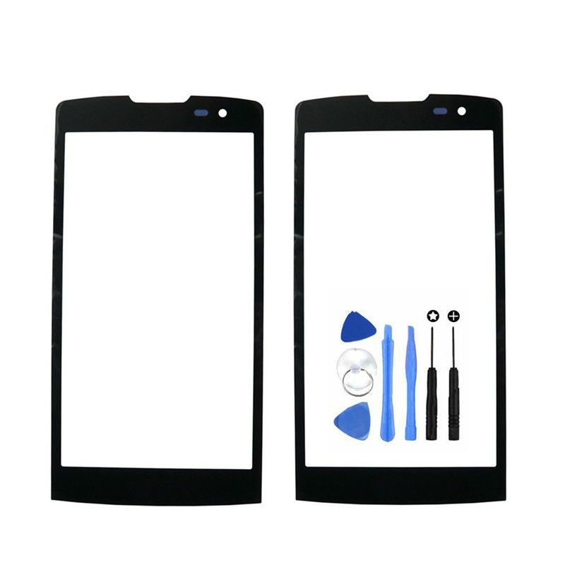 Vannego Free Shipping Front Screen Outer Glass Touch Outer Cover Panel LENS for LG Leon H340 H320 H324 H340N Touchscreen