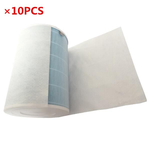 10PCS HEPA antibacterial anti-dust cotton for xiaomi air purifier 2 / 1 / Universal air conditioning filter cotton