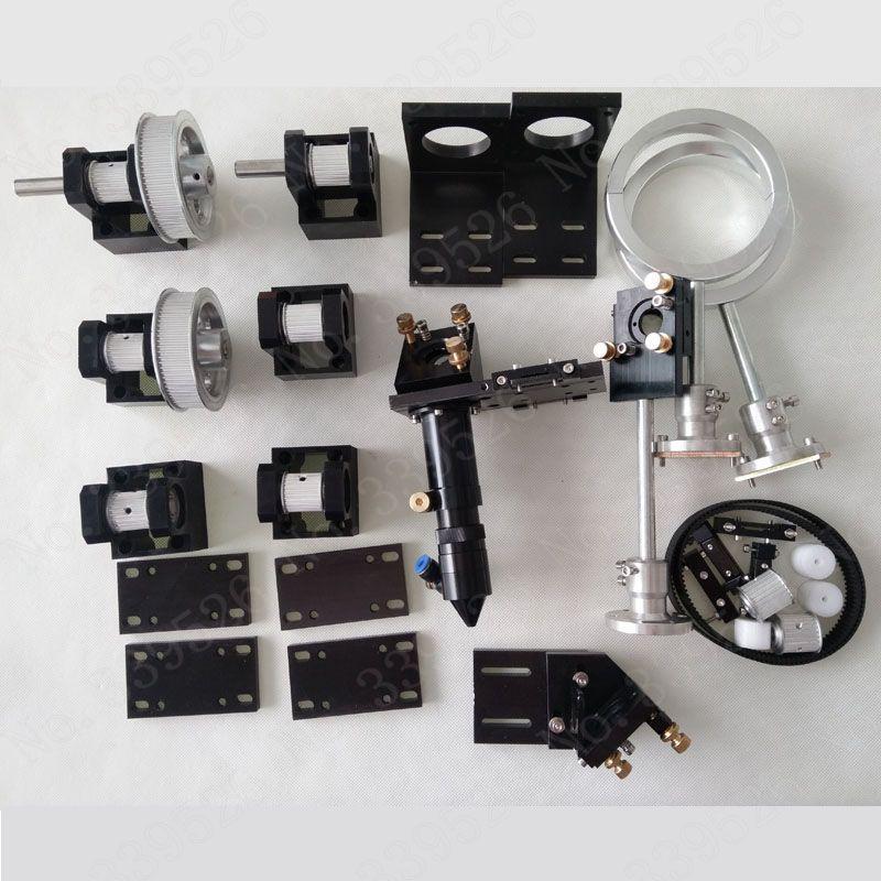 Co2 Laser Cutter Teile gravierte maschine Teile Hardware Übertragung laserkopf Mechanische Komponenten/460 zu 1610 cnc router
