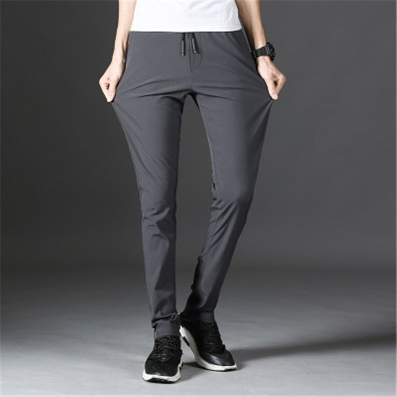 2018 casual pants male loose pants men's thin section summer men's trousers trousers X81