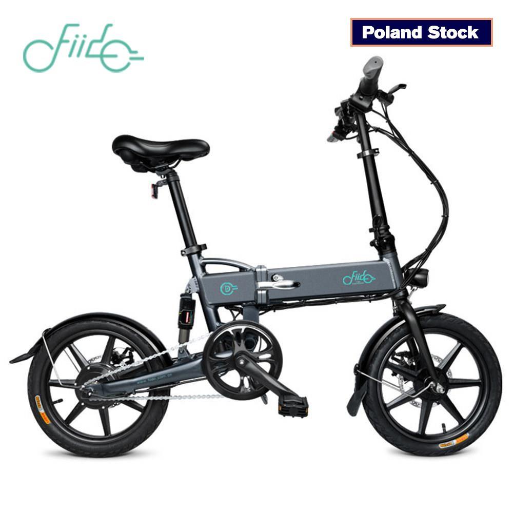 FIIDO D1 Falten Elektro-bike Drei Reiten Modi ebike 250W Motor 25 km/h 25-40KM Bereich e bike 14 zoll reifen elektrische fahrrad
