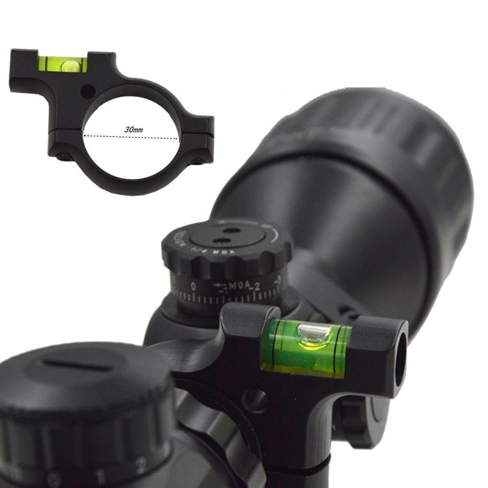Niveau à bulle d'anneau de 30mm pour les Bases de portée de Picatinny tissées chasse lunette de visée tactique portée monte accessoires vue 1 PC