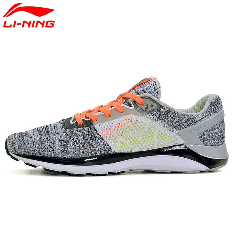 Li Ning frauen SUPER LICHT XIV Laufschuhe Dämpfung DMX Turnschuhe Atmungsaktives Innenfutter Sportschuhe ARBM028 XYP469