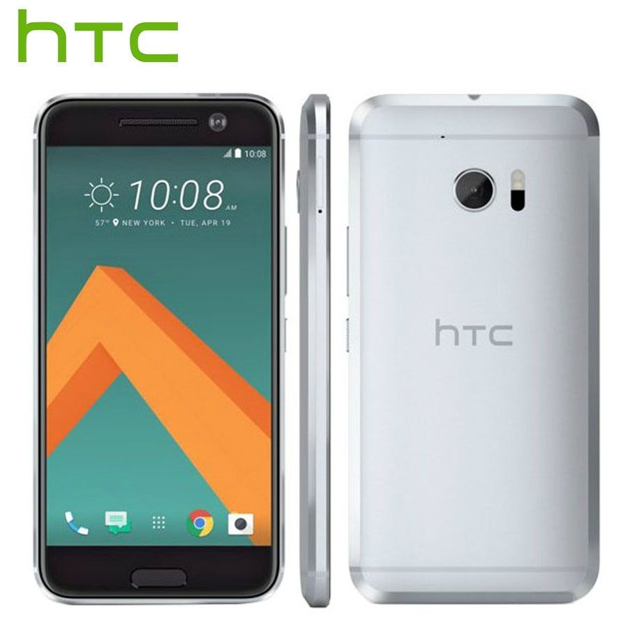 T-Mobile Version HTC 10 LTE 4G Mobile Phone 5.2 inch 4GB RAM 32GB ROM Sanpdragon Quad Core 12MP Camera 1080P Android Smart phone