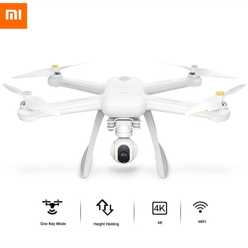 Original XIAOMI Mi Drone WIFI FPV With 4K 30fps Camera 3-Axis Gimbal RC Quadcopter RTF With USB dongle