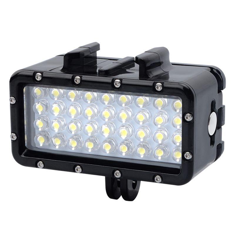 Pour Dji GoPro sous-marine lumière plongée lumière LED waterproof pour GoProHero 7 5 6 4 Session Xiaoyi 4 k Osmo Action accessoires