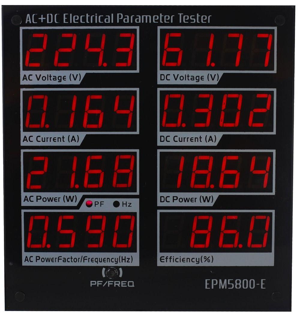 EPM5800-E AC/DC compteur d'énergie/wattmètre/Électrique paramètres testeur/test power Supply/Pilote/ efficacité/ac/DC