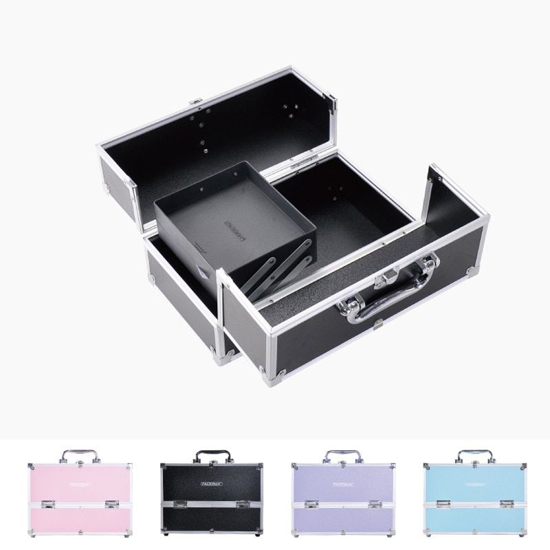 New Arrival Professional Makeup Bag Women Cosmetic Case High Quality Female Korean Makeup Box Large Capacity Travel Wash Bags