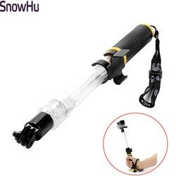 SnowHu Floating Pole EVO Floaty Monopod tripod For Gopro hero6 5 4 3 for SJCAM for xiaomi for yi 4K camera accessory TP246
