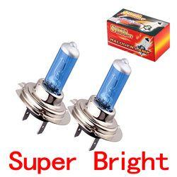 2 pcs H7 Super Bright Blanc Brouillard Ampoule Halogène 55 W Voiture Lampe 55 W V2 Parking Voiture lumière Source u20