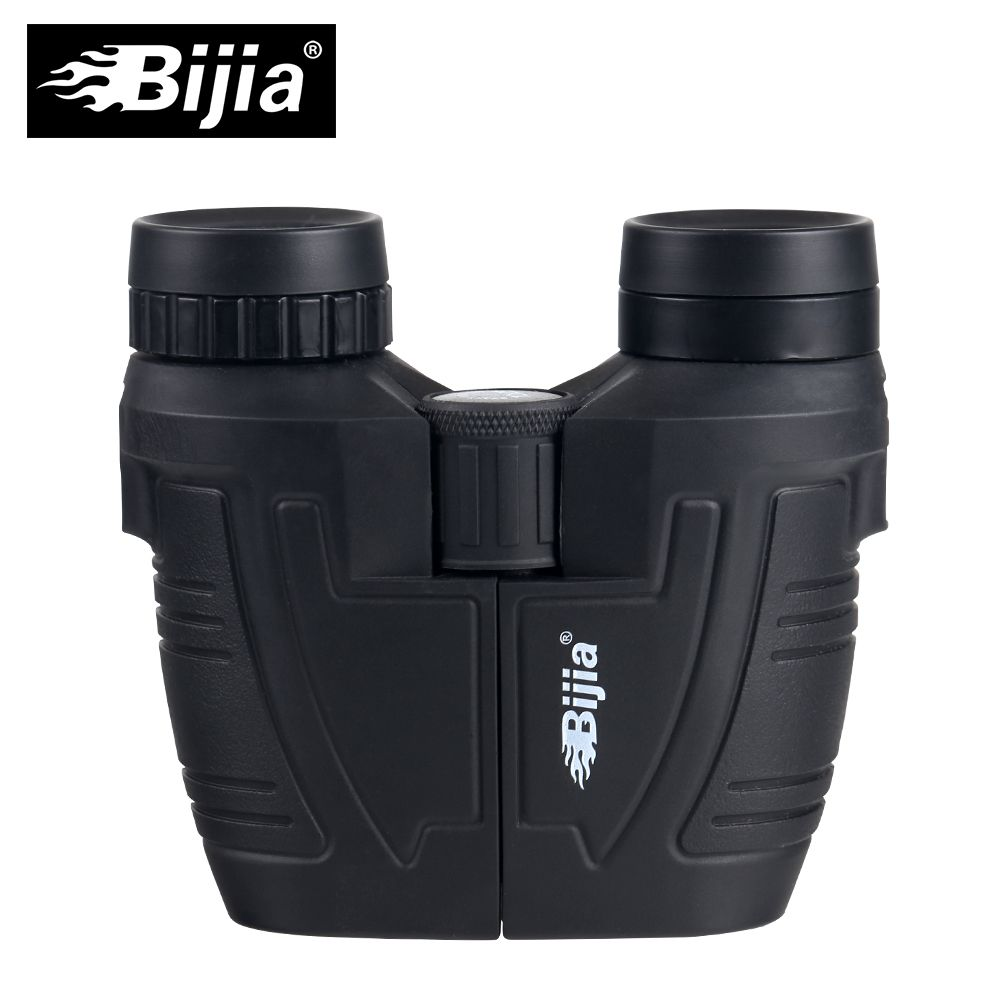 BIJIA 12x25 BAK4 prism high definition porro binoculars portable telescope professional hunting optical outdoor sports