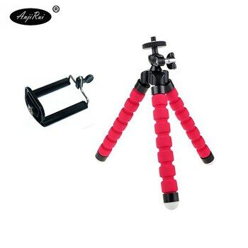 Portable Flexible Tripod Holder Mount Stand For Action Camera Gopro Hero 4 3/SJCAM Xiao Mi Yi Accessories And Mobile Phone Stand