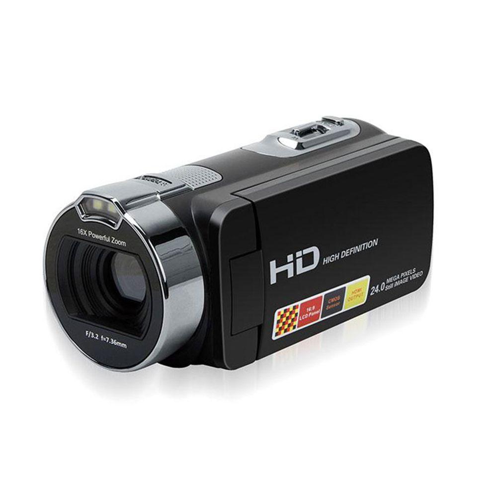 Cewaal Full HD 24MP 1080P Digital Video Camera HDV-312P Cam 16X Zoom 2.7 Inch CMOS DV Camcorder Gift US Plug