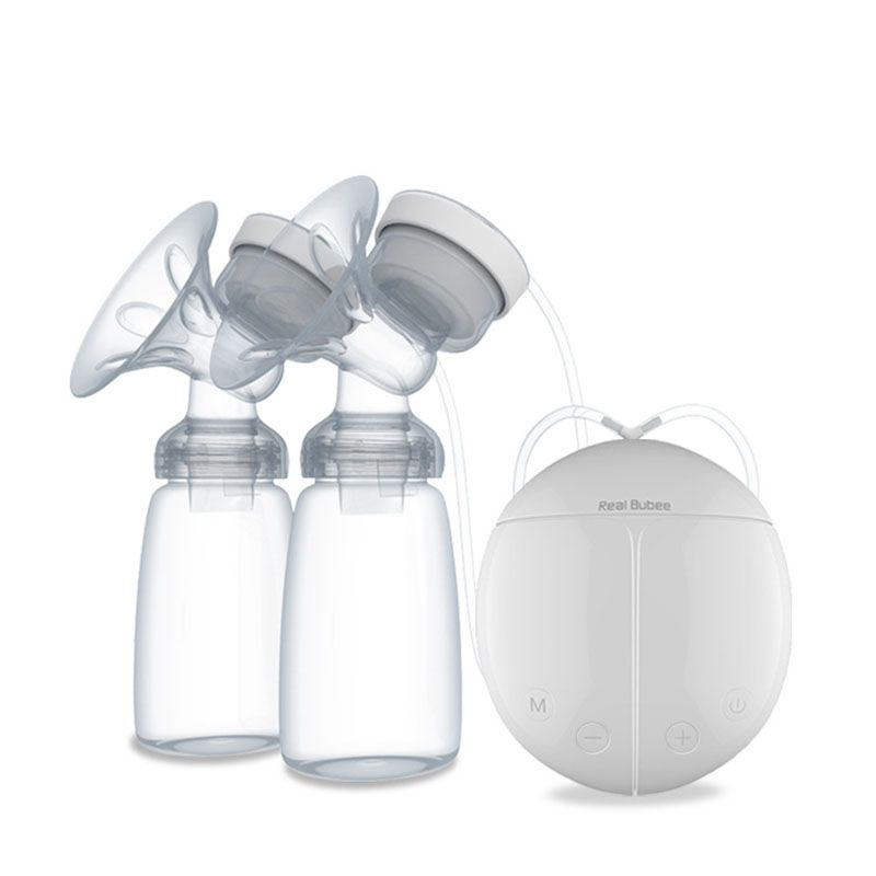 BPA Free Electric Double Breast Pump for Baby Breast Feeding Infant Nipple Suction Milk Bottle Smart Mother USB Breast Pump^