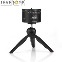 SEVENOAK SK-EBH01 Pro 360 Degree Swivel Panning Rotating Time Lapse Tripod Ball Head for GoPro for iPhone Sony A7ii A7s A7r NEX6
