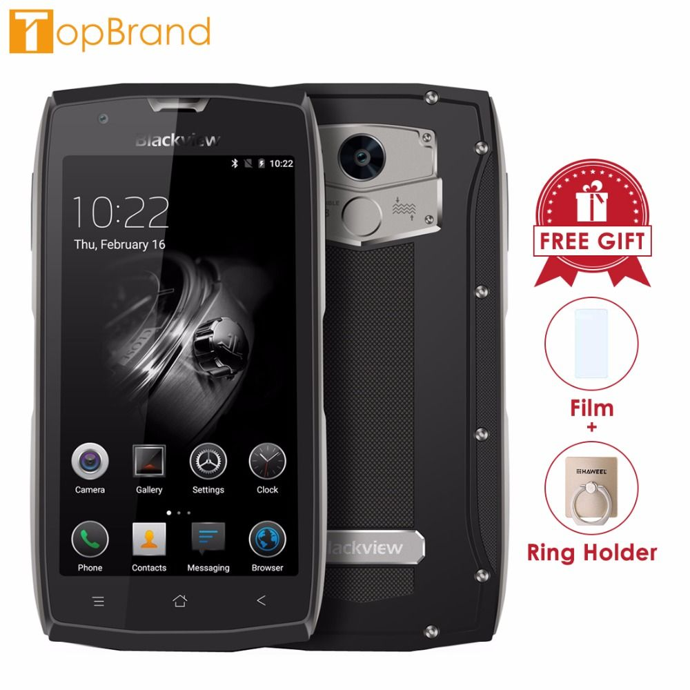 Blackview BV7000 Smartphone 5.0 inch Corning Screen 2GB RAM 16GB ROM Android 7.0 MTK6737T Quad Core 1.5GHz Dual SIM 4G OTG NFC
