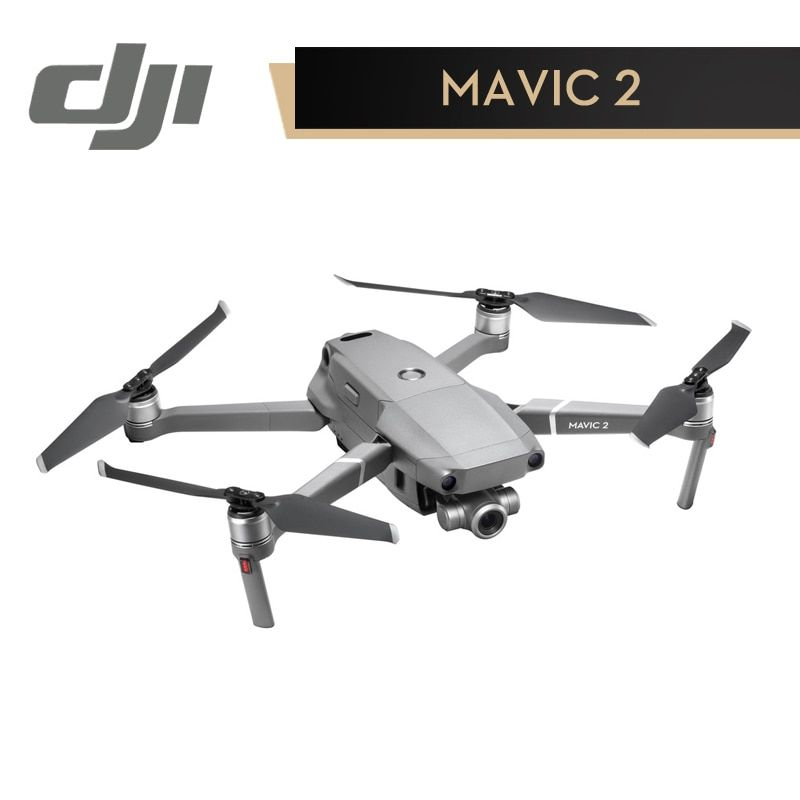 DJI EU Version Mavic 2 Zoom Camera Drone In Store Dolly Zoom 4X Lossless Zoom FHP Video RC Helicopter FPV Quadcopter Standard