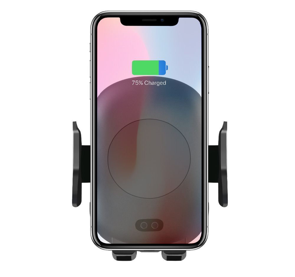 Wireless Car Charger, Automatic Qi Wireless Car Mount Air Vent Holder Wireless Charging for iPhone 8/ X Samsung S9 S9+ S8 S7