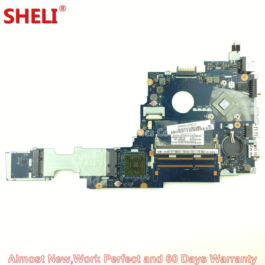 SHELI MBSFT02001 MB.SFT02.001 Laptop Motherboard For Acer Aspire One 722 P1VE6 LA-7071P C60 1.0GHz DDR3 Main Board System Board