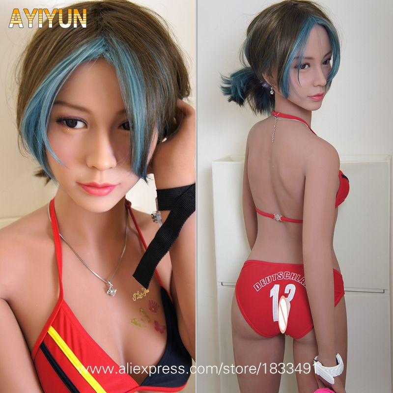 AYIYUN Real Silicone Sex Dolls Robot Japanese Anime Full Oral Love Doll Realistic Adult for Men Toys Big Breast Sexy Mini Vagina