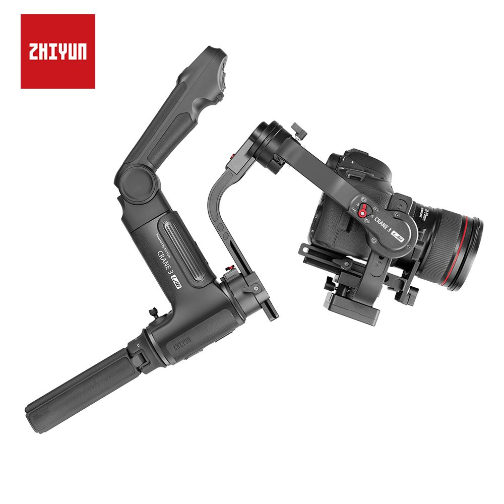 ZHIYUN Neue Kran 3 LAB 3-achse Handheld Gimbal 4,5 KG mit Follow Focus für Sony/Canon/ panasonic/NIKON DSLR Kamera Stabilisator