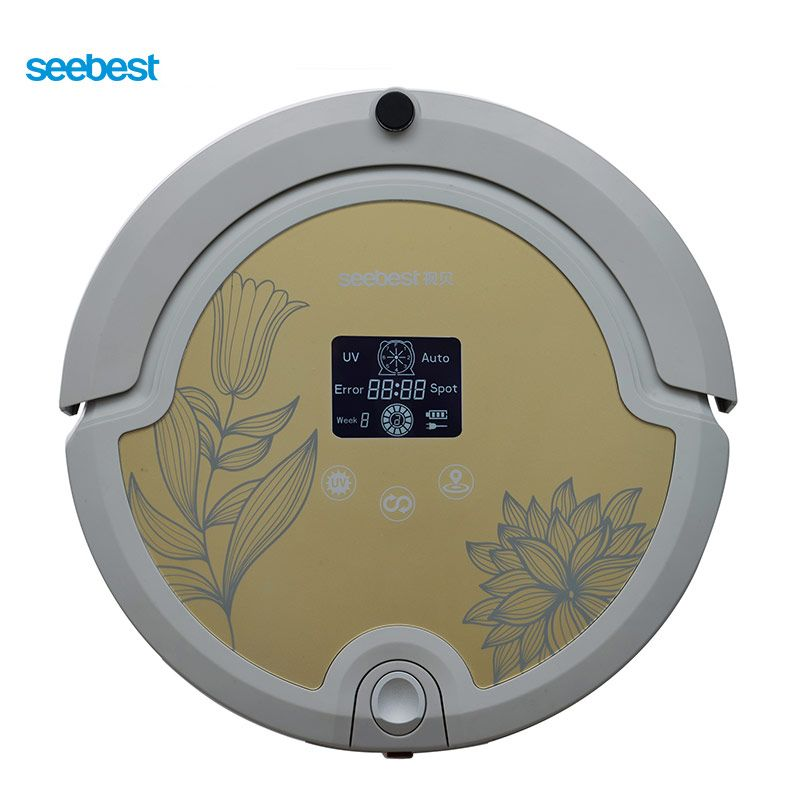Seebest WALL-E 2.0 C571 Robot Vacuum Cleaner with Rolling Brush, Intelligent Vacuum Cleaner LCD Screen, Russia Warehouse
