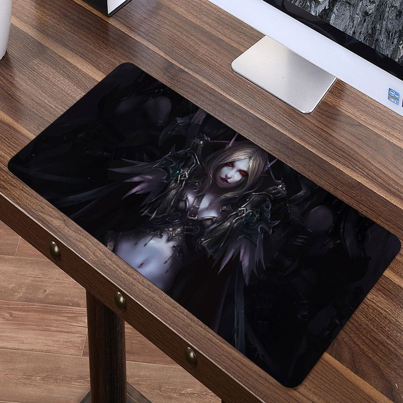 SIANCS 80 x 40cm XL World of Warcraft Gaming Mouse pad Large Fashion WOW Mousepad For Speed Gamer Laptop Rubber Notebook mat