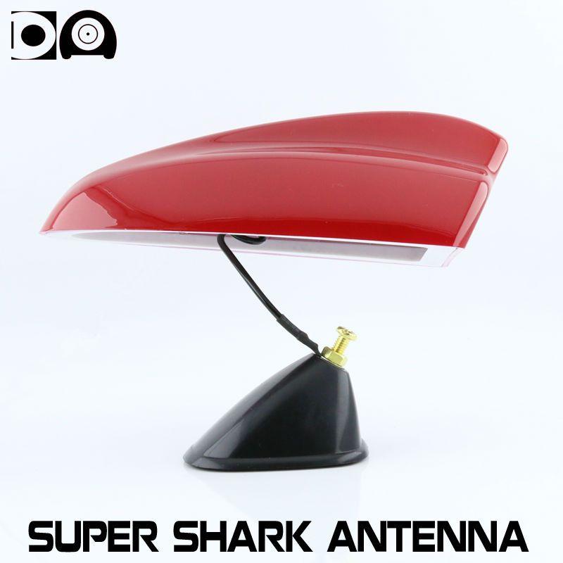 Super shark fin antenna car radio aerials with 3M adhesive fit all car models