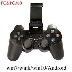 GamePad inalámbrico teléfono móvil juego PC joystick con PC/X360 modo Ventanas win7/win8/win10 /android/vapor juegos