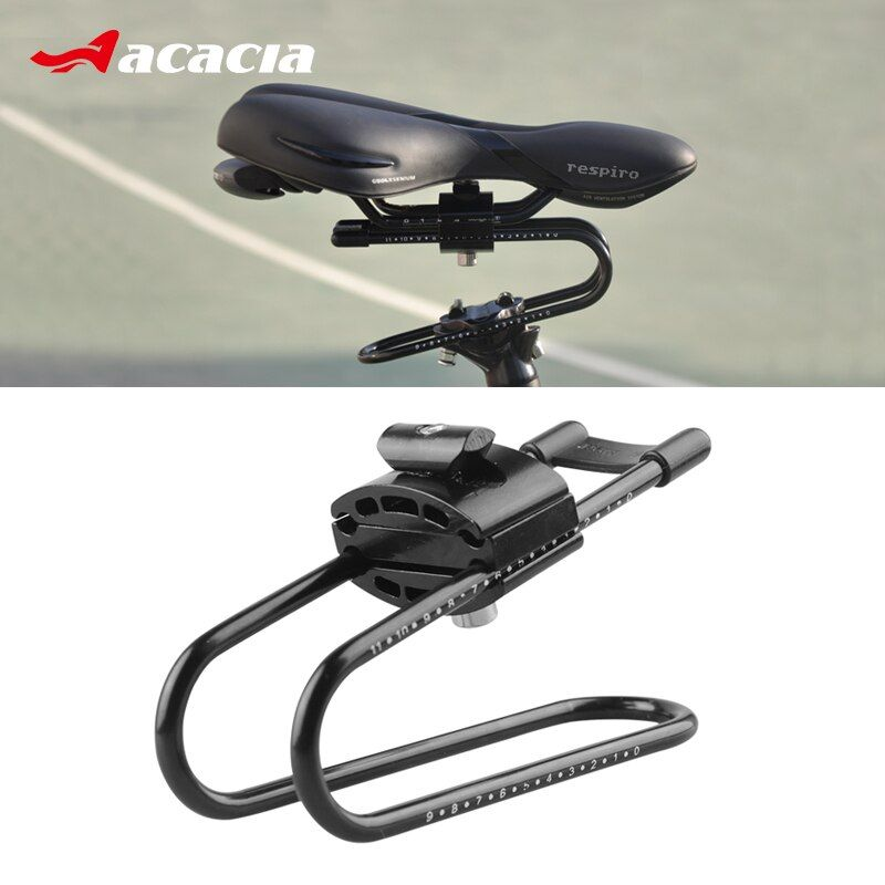 ACACIA Bike Shocks Alloy Spring Steel Bicycle Saddle Suspension Device For MTB Mountain Road Bike Shock Absorber Cycling Parts