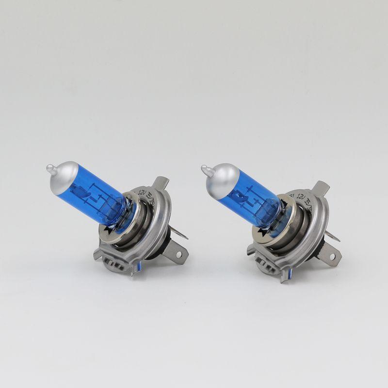 Мотоцикл фар hs1 лампа 35/35 Вт 5000 К галогенные свет ксеноновых 12 В жесткий Стекло px43t замена лампы для Yamaha 2 шт.