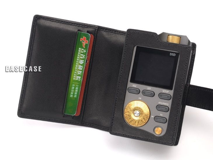 E4 Custom-Made Genuine Leather case for LOTOO Paw Gold